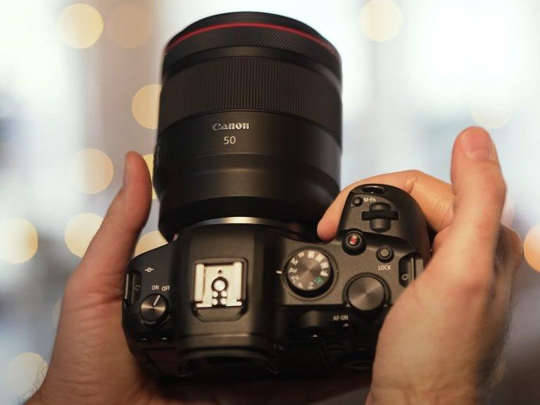 Canon RF 50mm f1.2L USM Grip Problem