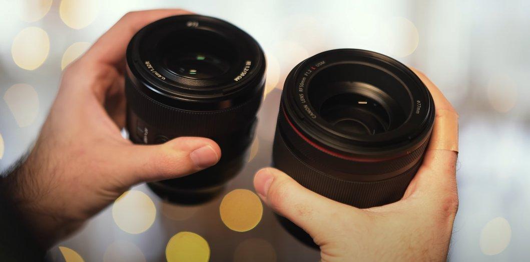 Sony vs Canon Filtre Çapları Karşılaştırması