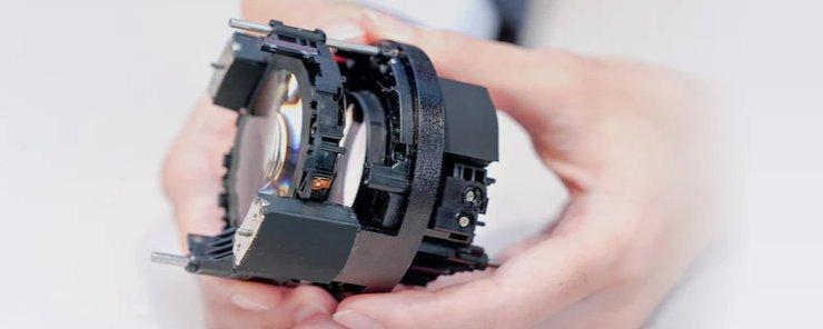 Otomatik odaklama ve mekanik tasarım Sony FE 50mm f1.2