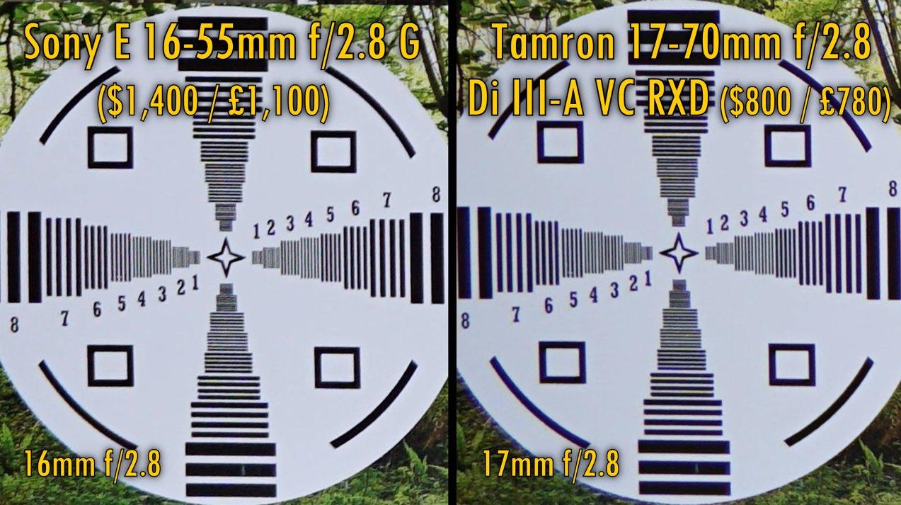 Tamron 17-70mm f/2.8 vs Sony 16-55mm f/2.8