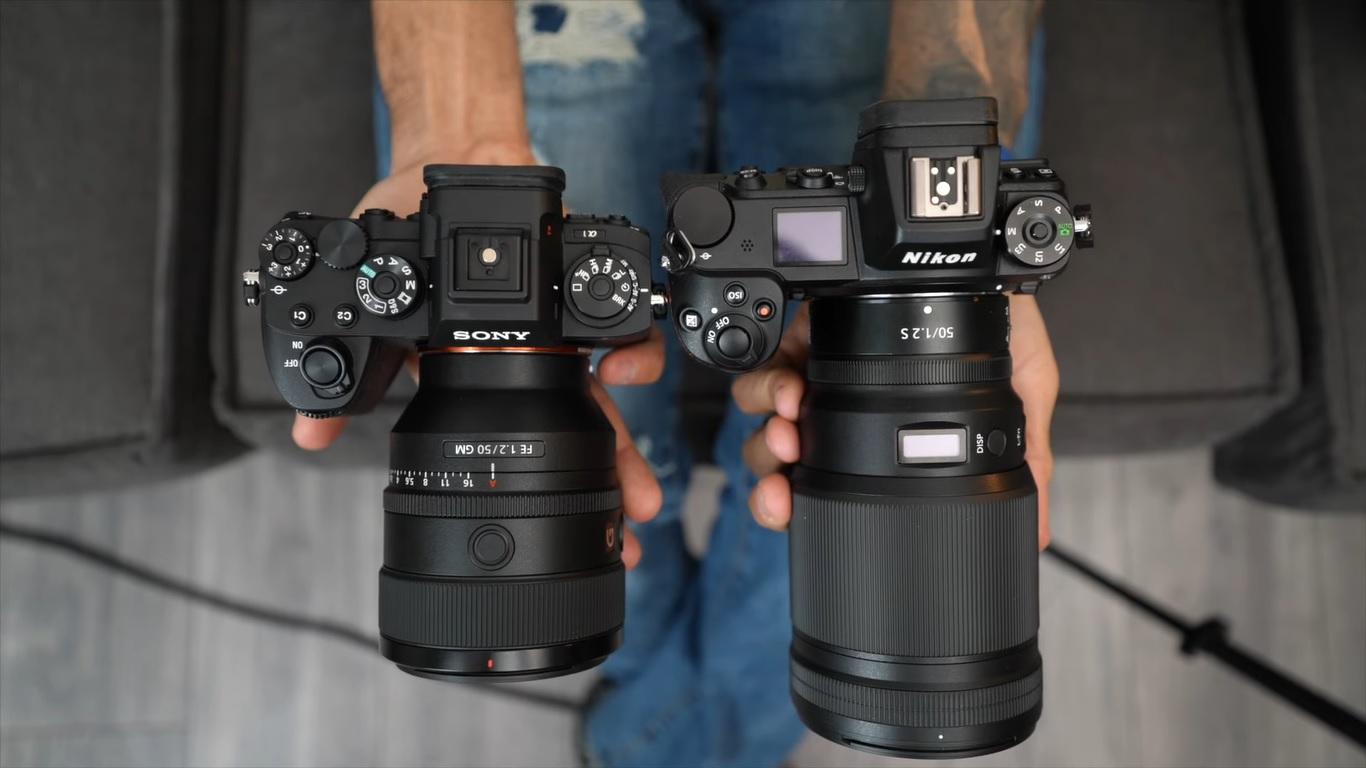 Sony FE 50mm f1.2 vs Nikon 50mm f1.2