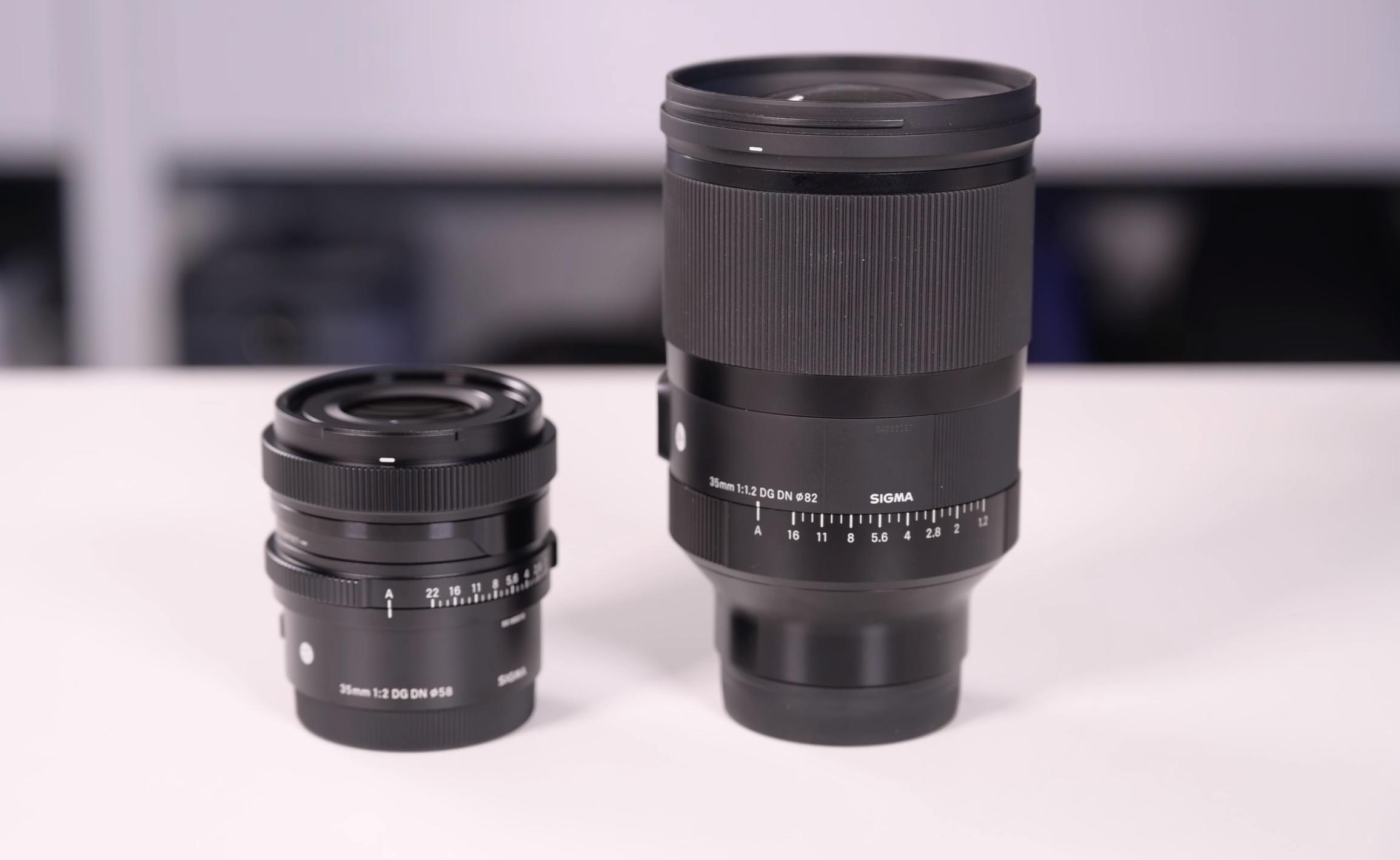 Sigma 35mm f2 vs 35mm f1.2